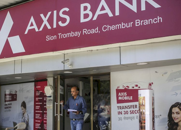 NSE : Axis Bank , ONGC  were among the top gainers