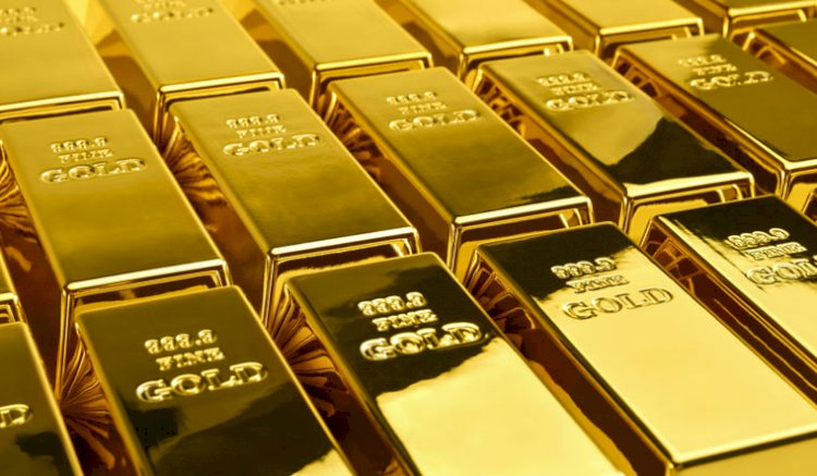 Gold contracts were trading lower by 0.36 percent